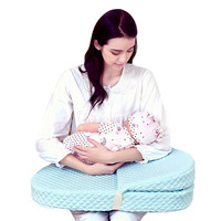 Breastfeeding Pillow Waist Chair Newborn Confinement Anti spitting Milk Pillow Pad Hold Child Baby Horizontal Bench