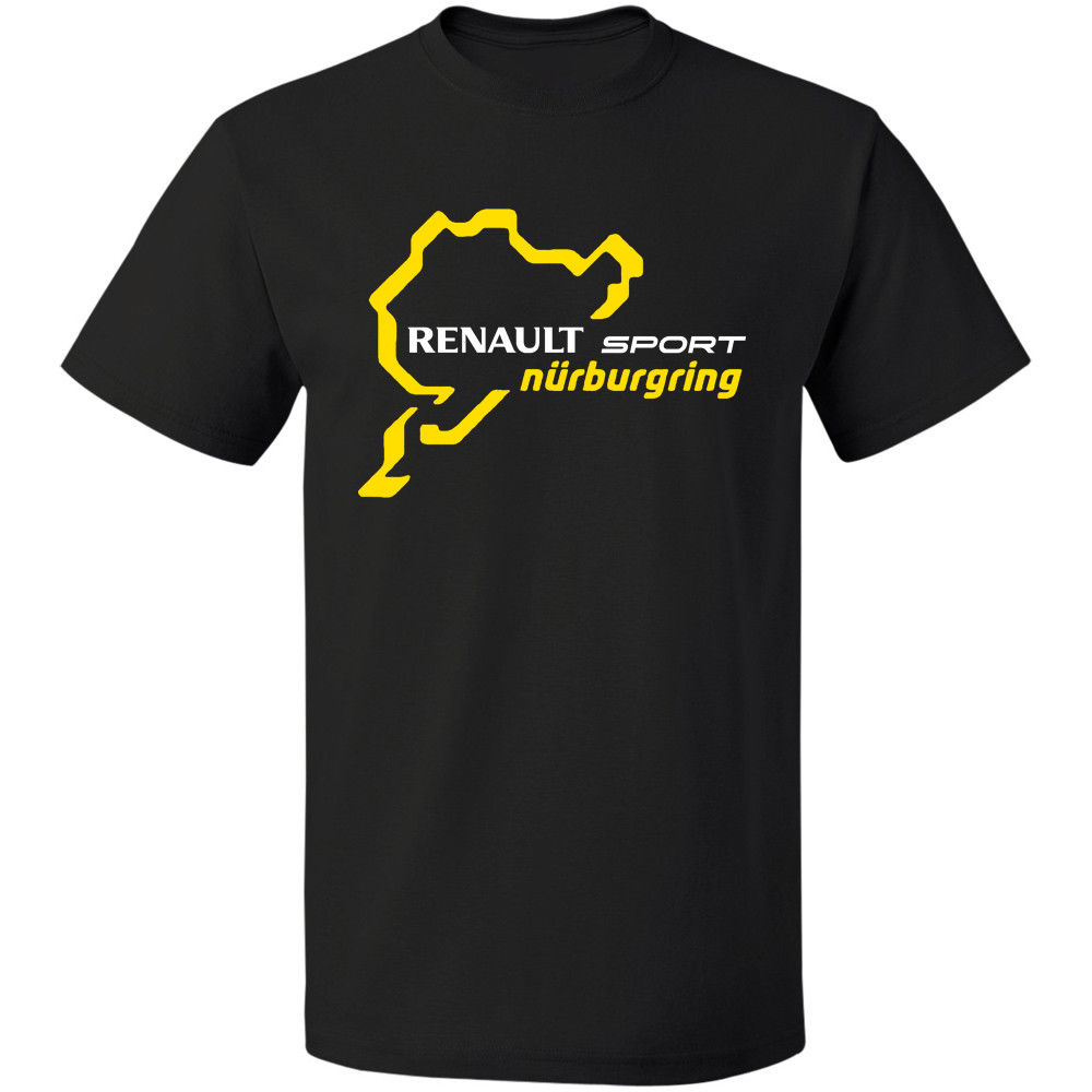 RENAULT SPORTER NURBURGRING Clio R3 Touring Car Racinger Бесплатная доставка хлопковые топы Футболка Homme Лето Рубашка с короткими рукавами футболка