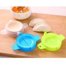 Green Blue White Dumpling Maker Wraper Press Mould Ravioli Dough Pastry Pie Dumplings Mould Tool Kitchen Accessories 1pcs(China)