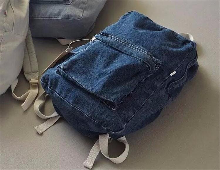 HTB1uXMyKpXXXXbIXVXXq6xXFXXXI - Denim backpack school bags for girls deep blue and light blue