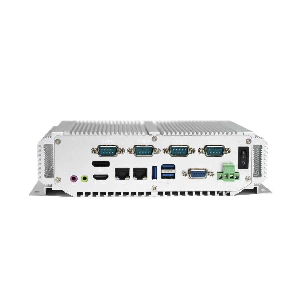 1u rack server 4GB RAM 1*HDMI 2*LAN 5*USB 4*COM with Intel Core I5-3317U processoer