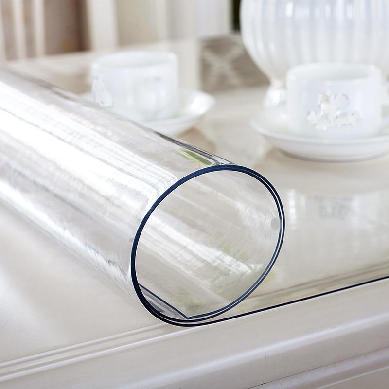 PVC transparente impermeable mantel hogar mesa cubierta ...