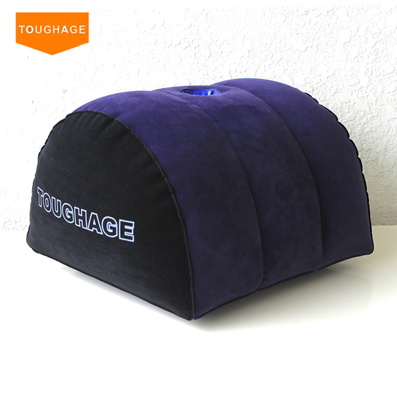Toughage Inflatable Sex pillow Sex Sofa Chair,Sex furniture Adult Games Sex Products Toys,G-Spot Magic Cushion Pad With a Hole