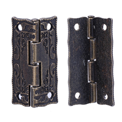 10pcs set cabinet door butt hinges mini drawer bronze decorative mini hinges for cabinet storage wooden.jpg 250x250