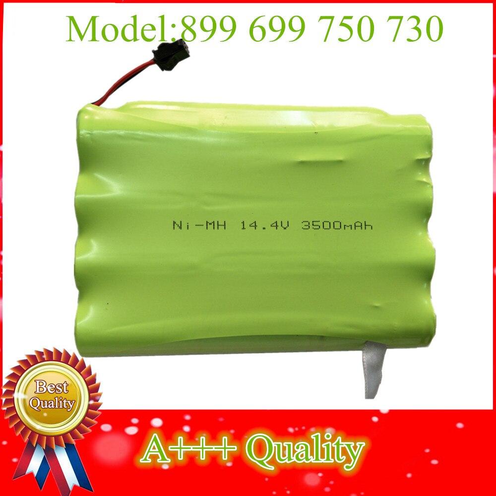 14.4 V 3500 mah NI-MH batterie de remplacement 899 699 750 730 pour Robot aspirateur batterie, avec NTC PTC protection contre les surintensités