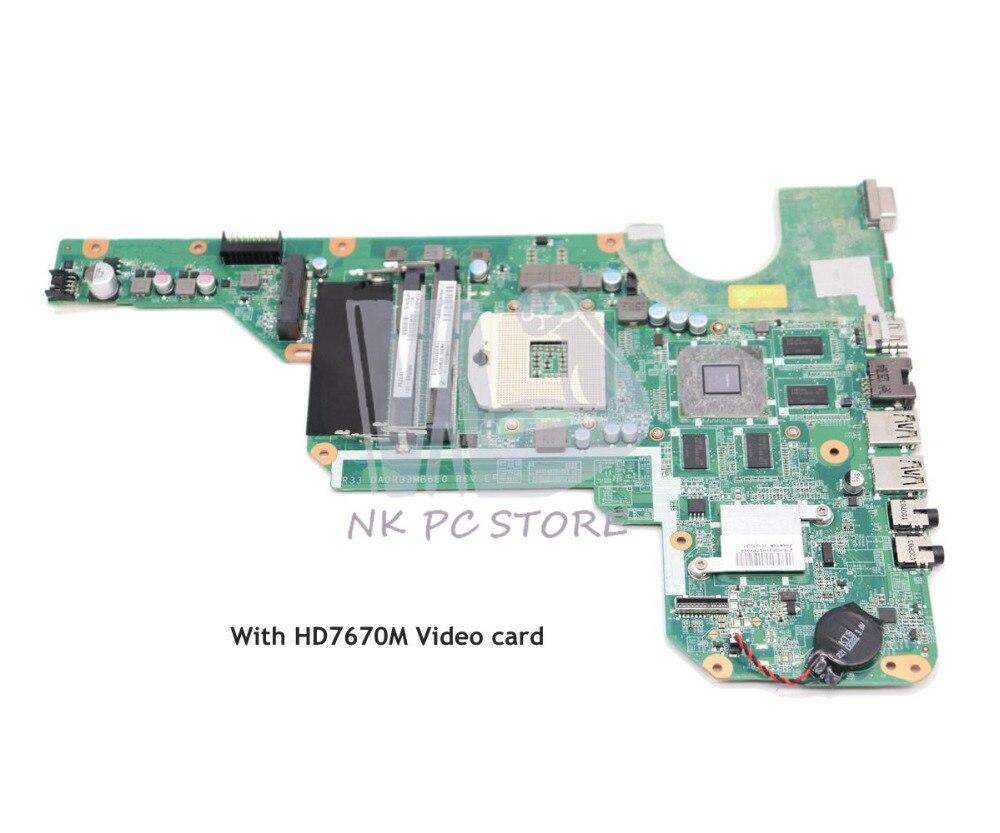 NOKOTION 680569-501 680569-001 680570-001 680570-501 Pour HP Pavilion G4 G4-2000 G6 G6-2000 g7 G7-2000 Mère D'ordinateur Portable HD7670M