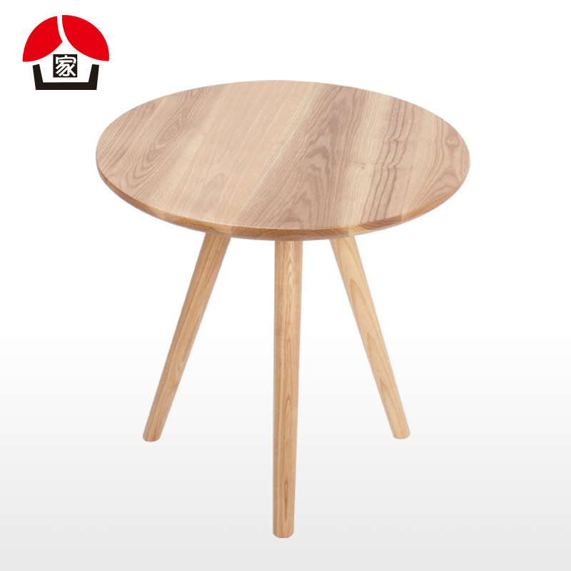 Nordic Wood Coffee Table Small Coffee Table Fashion Simple Small Round Table  Ash Wood Side A Few Corner A Few Coffee Tables In Dining Tables From  Furniture ...