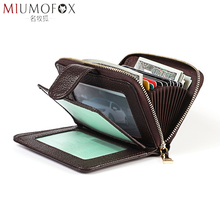 Multifunction Driving License Leather Case RFID Blocking Credit Card Holder Men Genuine Certificate Wallet Women Purses