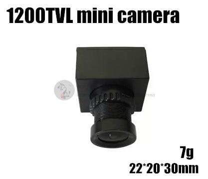 FPV aerial webcam Mini Micro 1200TVL HD camera for cross racing quadcopter QAV180 / QAV210 mini drone aomway s ony 1 3 hd sensor 1200 line 1200tvl 960p ccd fpv mini micro camera for qav250 quadcopter rc plane uav