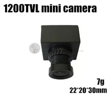 FPV aerial webcam Mini Micro 1200TVL HD digicam for cross racing quadcopter QAV180 / QAV210 mini drone