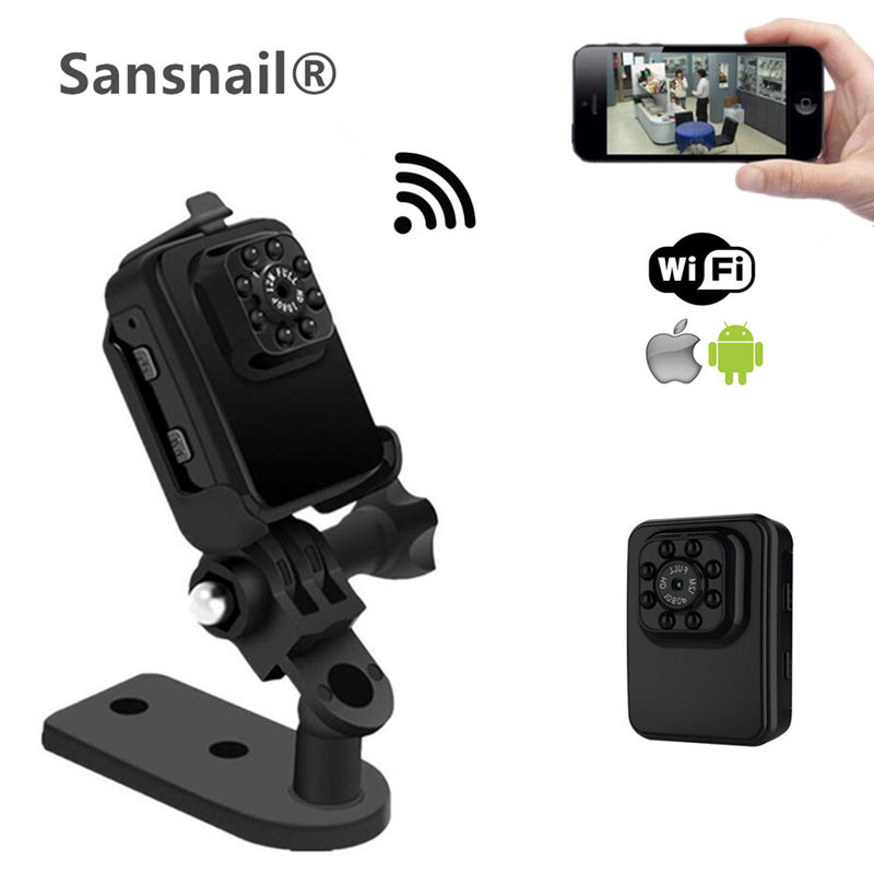 R3 WIFI Mini camera HD 1080P Camera Night Vision Mini Camcorder Action Camera DV DC Video
