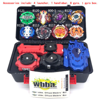 2020 new beyblades all Style Metal Fusion Set Gyro Storage Box Top bayblade Burst Launcher Hand Bay blade Toys for Children Boy image