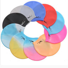 Durable Flexible Sporty Latex Swimming Swim Cap Bathing Hat Unisex dive Swimwear