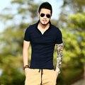 2017 Новая Коллекция Весна Лето фирменный стиль polo мужчины Мода slim тесная Повседневная Мужчины С Коротким рукавом твердые теннис camisa masculina Рубашки