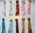 1 шт. 15 см 25 см BJD ПАРИК Высокой температуре Синтетические Волосы Кусок Для BJD SD Dollfie DIY