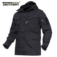 TACVASEN 2017 NEW M65 Army Camouflage Jacket Military Tactical Jacket Men S Winter Windbreaker Thermal Jacket