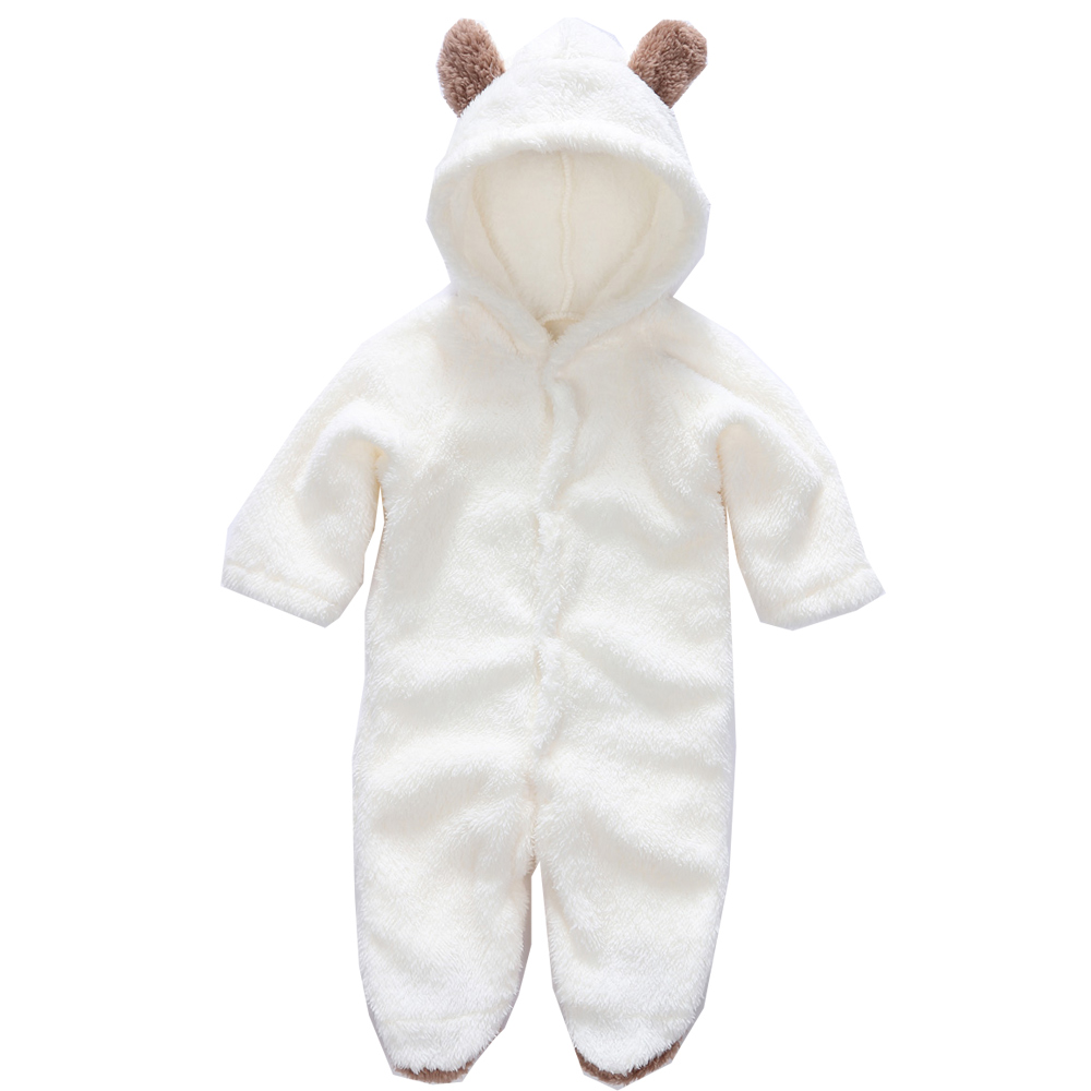 Autumn Baby Rompers Christmas Baby Boy girl Clothes Newborn Clothing Polar Fleece toddler Infant Baby Jumpsuits new born costume