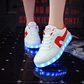 Men Led Shoes USB Rechargeable Lunimous Light Up Shoes for Adults Breathable Lovers Casual Shoes Chaussure Femme Lumineuse