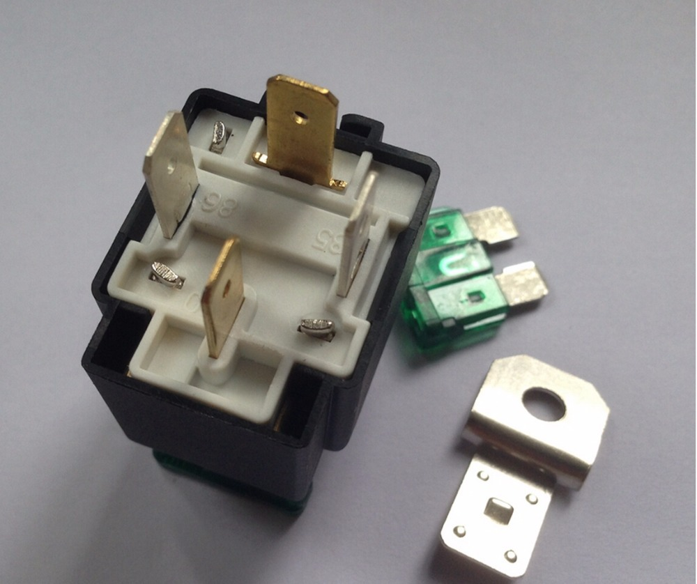 Automobile Relay With The Fuse 4pin 12v 30a Normally Open Type Electrical Car Part In Relays From Home Improvement On Alibaba Group