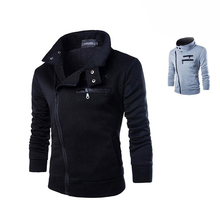 Men's Zipper Active Coat Long Full Sleeves Jacket Warm Outerwear Winter Autumn Sweatshirts Hoodie Plus Size