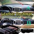 Для Hyundai Accent Era Brio Avega Verna 2005-2011 кожаный Dashmat крышка приборной панели Даш коврик от солнца на заказ Стайлинг автомобиля