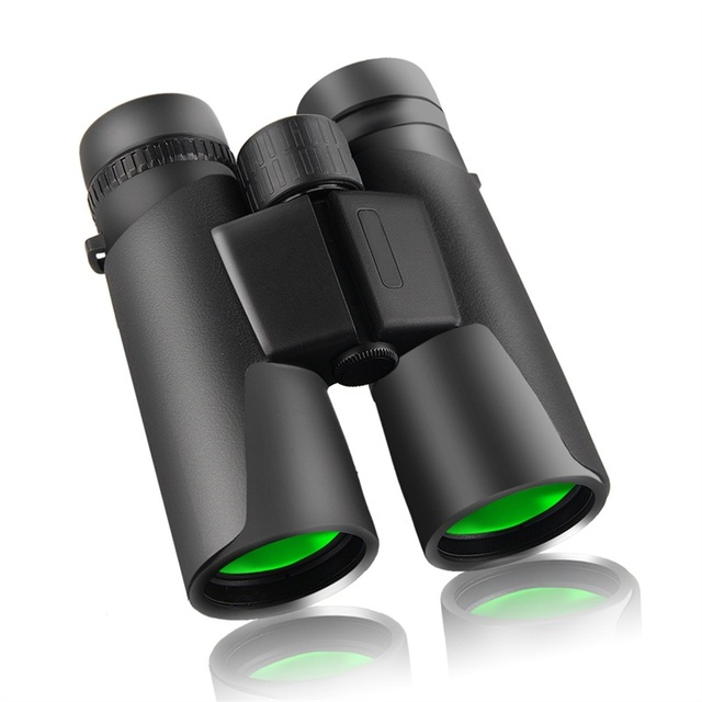 10 x 42 HD Powerful Compact Binoculars Military Telescope Waterproof Fog-Proof Light Weight for Bird Watching Outdoor HT38-0018
