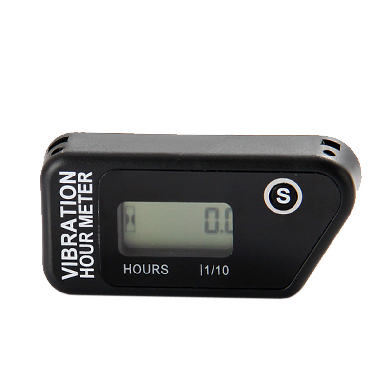 Water proof LCD wireless Vibration Hour meter counter For Motocross engine boat Snowmobile motorcycle chainsaw ATV jet ski