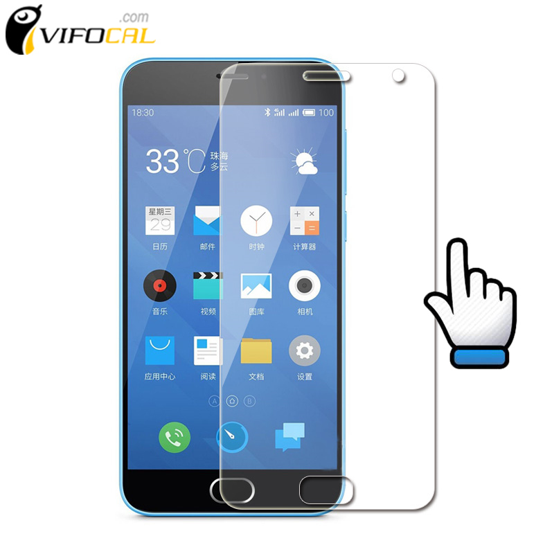 Meizu M2 mini Tempered Glass 5.0 inch 9H 2.5D Premium Screen Protector Film For Meizu M2 mini Cell Phone + Free shipping