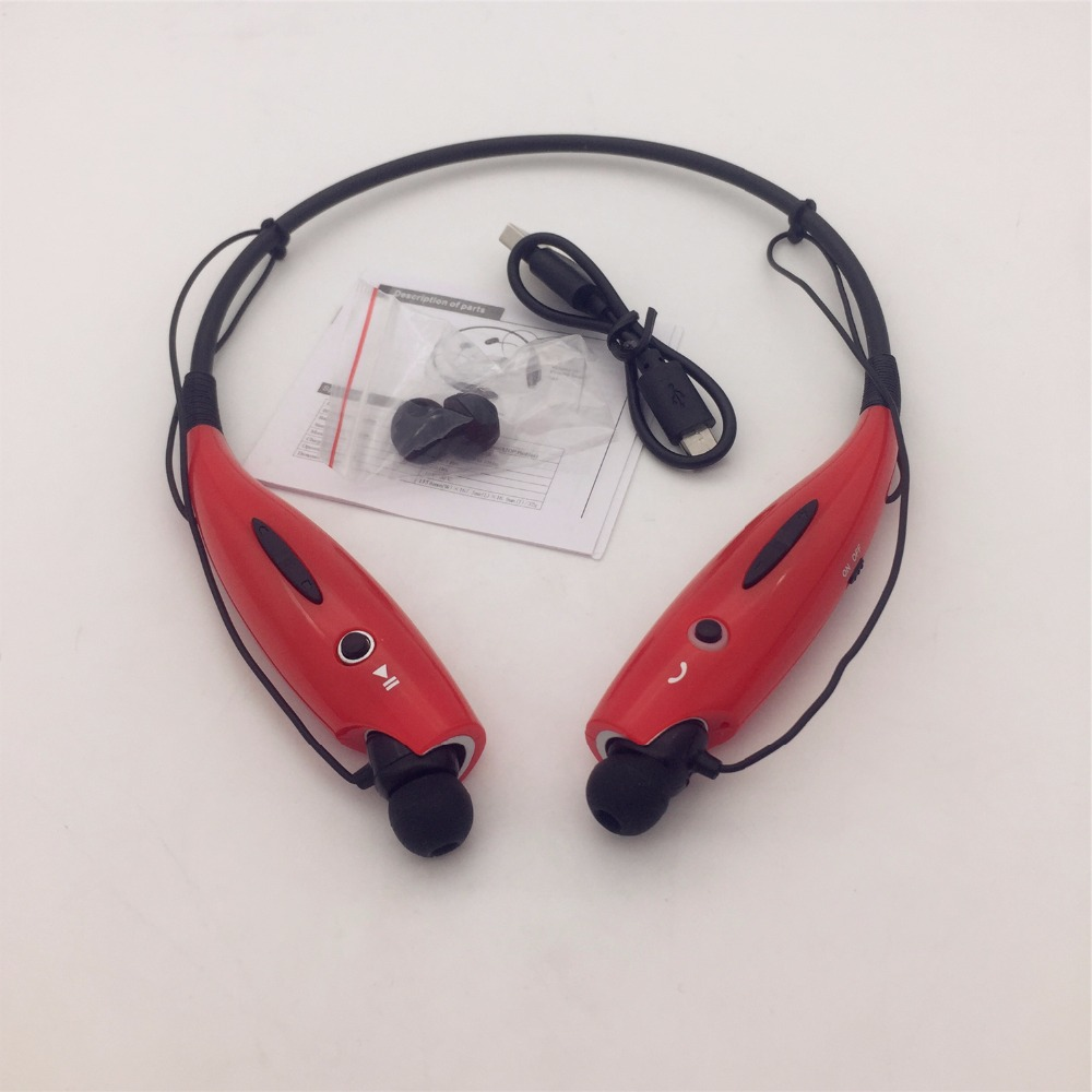 Original HBS730 Wireless Bluetooth Headphone Headset  Sport Running Earphone Handsfree Earbud Earpods For Phone
