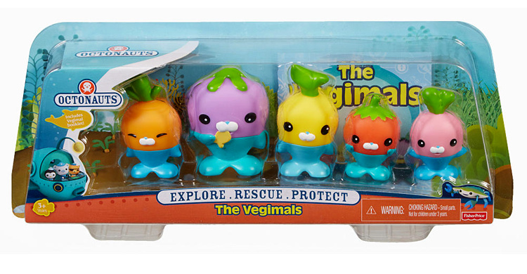 original Octonauts action figures The Vegimal child Toys 4-8cm original octonauts octonauts marine animals creatures figures toy sea turtle urchin white tip shark child toys minifigures