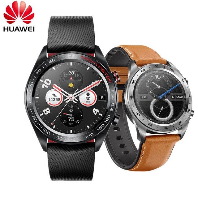 HUAWEI הכבוד לצפות עבור גברים קסם תהילה חכם שעון GPS עמיד למים Smartwatch מגע מסך NFC תשלום Bluetooth עבור אנדרואיד IOS