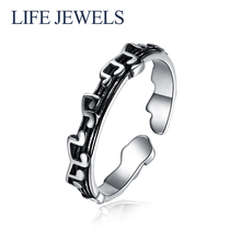 Authentic100% 925 Sterling Silver Rings Charm l Women Luxury Valentines Day Gift Jewelry 18161