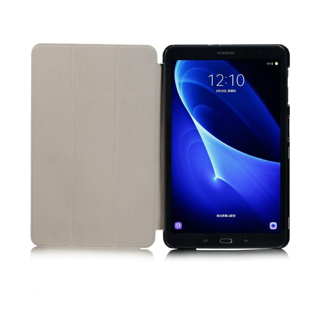 Samsung Galaxy Tab A 10.1 2016 T580 T585 ümbrised KST PU nahast - Tahvelarvutite tarvikud - Foto 5