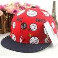 Весна 2016 Корейских детей мальчик хип-хоп бейсболка прекрасный девочка лето snapback cap hat