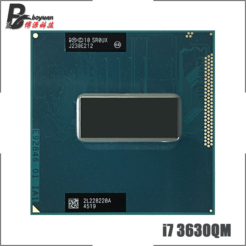 Intel Core i7 3630QM i7 3630QM SR0UX 2 4 GHz Quad Core Eight Thread CPU Processor