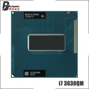 Intel Core i7-3630QM i7 3630QM SR0UX 2.4 GHz Quad-Core Eight-Thread CPU Processor 6M 45W Socket G2 / rPGA988B