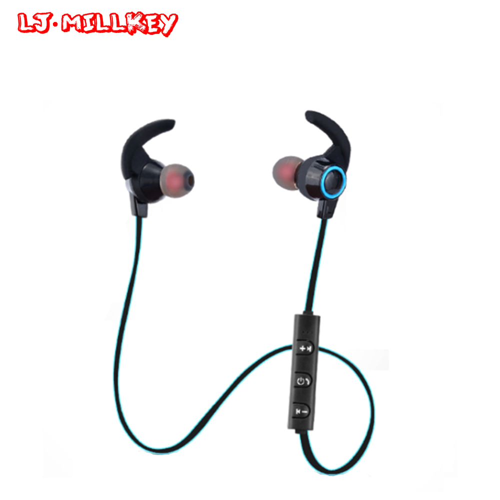 AMW-810 Sports Bluetooth Headset Wireless Handsfree Earphone Earpieces with Mic Sweatproof fone de ouvido LJ-MILLKEY LZ029 bluetooth earphone wireless music headphone car kit handsfree headset phone earbud fone de ouvido with mic remax rb t9