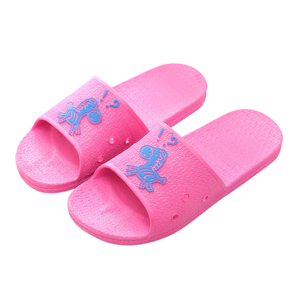 2018 Female Slippers Summer Floor Skid Proof Home Floor ...