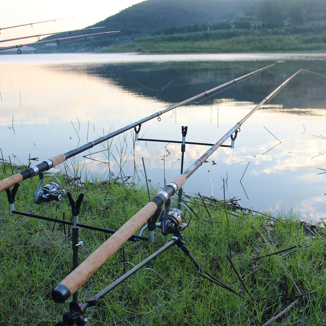 Feeder fishing rod telescopic spinning casting Travel Rod