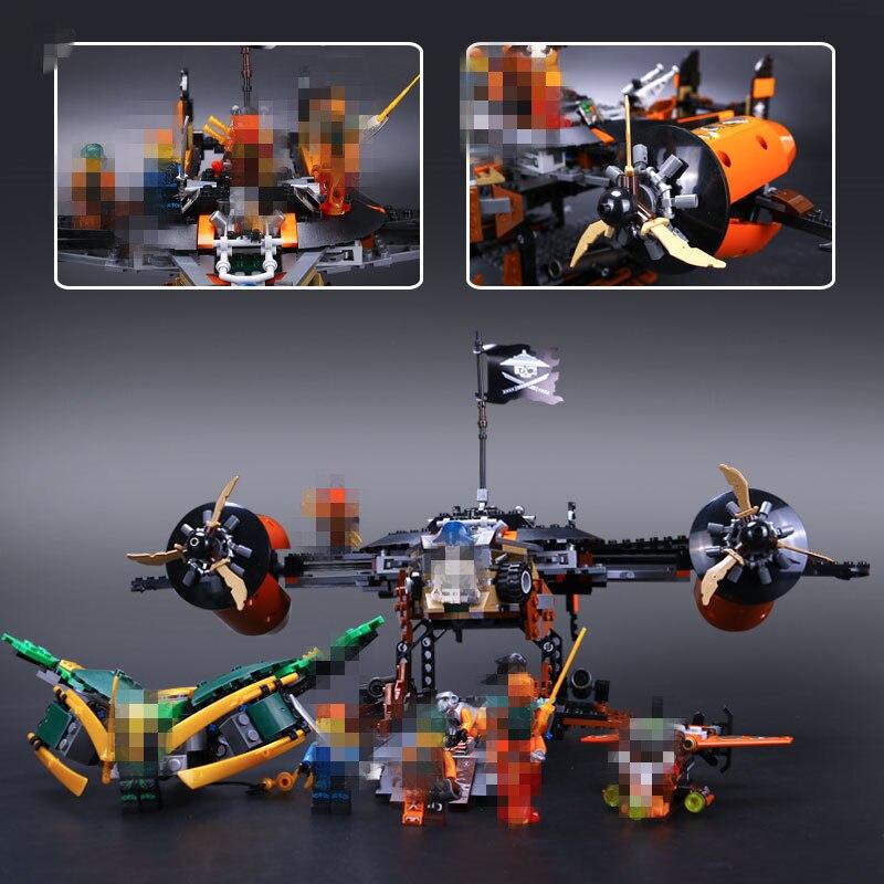 Lepin 06028 Phantom Misfortune's Keep Assembling Building Block Jay Lloyd Kai Bucko Compatible With 70605 phantom phantom ph2139