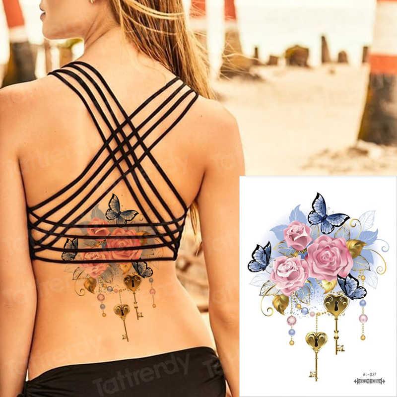 Sexy etiqueta do tatuagem jóia do vintage rendas sob mama colar tatuagem temporária tatuagens henna tatoo falso moda meninas body art