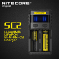 Original 2016 New Nitecore SC2 Intelligent Battery Charger USB Max Output 2.1A with Indicator for LiFePO4 Lithium Ion Ni-MH NiCd
