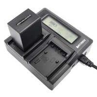 Быстрое двойное зарядное устройство для Sony NP-FV100 NP FV100 FV50 FV70 FH100 FH70 FH50 FH60 FP50 FP90 для CX700E PJ50E 30E 10E