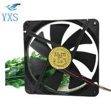 D14BH-12 fuente de Alimentación Del Ventilador Silencioso Ventilador de Refrigeración DC 12 V 0.7A 8.4 W 14025 140*140*25mm Ventilador de refrigeración