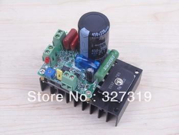 PWM Speed Controller For 300W CNC Spindle Motor Kits Support AC And DC Input hot sale dc 12 48v 400w aluminum alloy cnc spindle motor er11 mach3 pwm speed controller mount 3 175mm