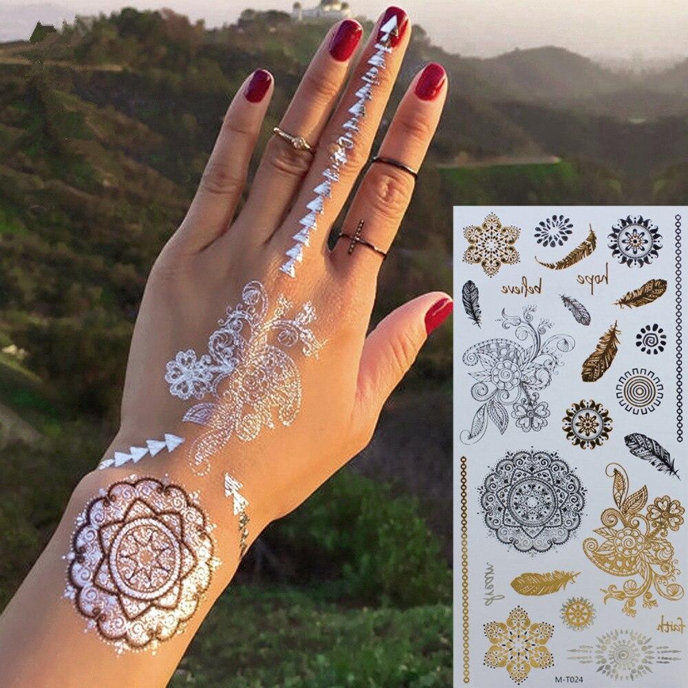Buy body art tattoo flash tattoo for Henna tattoos locations