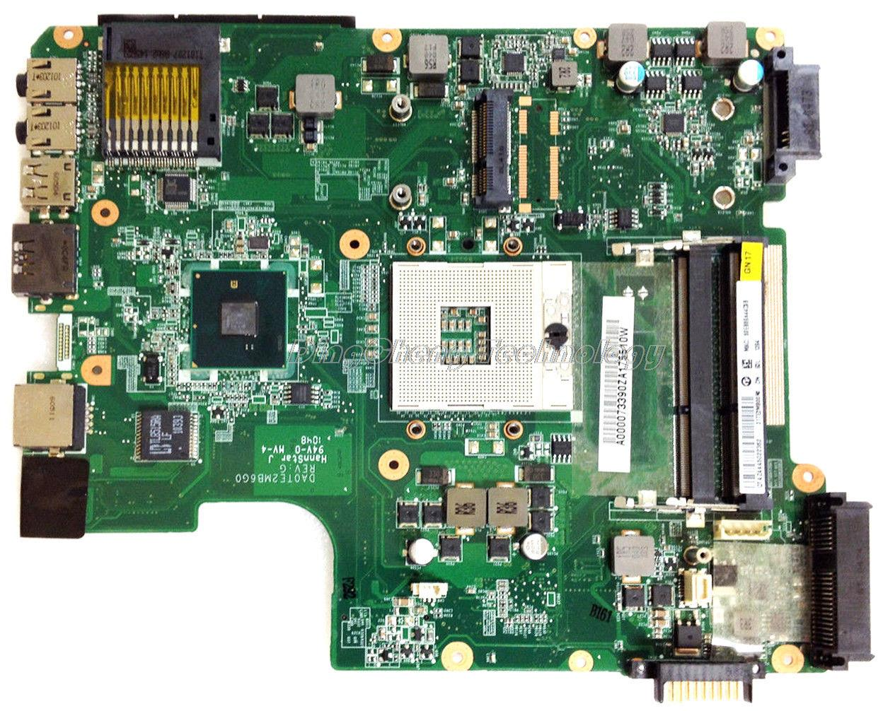 Laptop Motherboard For Toshiba Satellite L600 L640 L645 A000073390 DA0TE2MB6G0 integrated graphics cardLaptop Motherboard For Toshiba Satellite L600 L640 L645 A000073390 DA0TE2MB6G0 integrated graphics card
