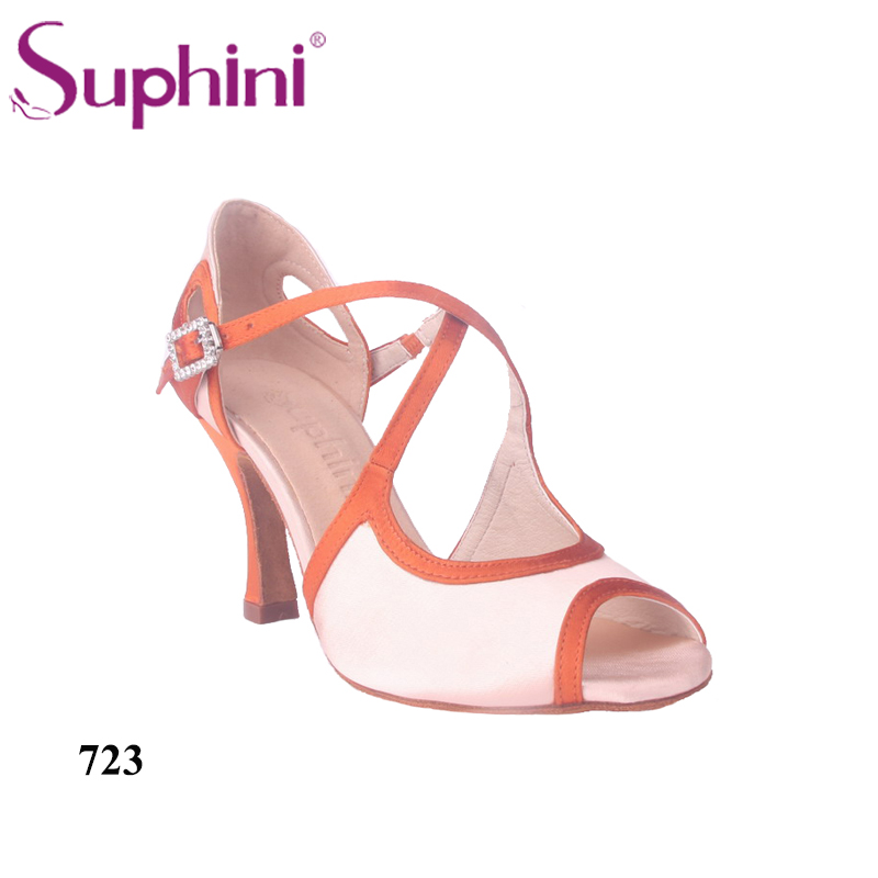 Free Fast Shipping Suphini New Style Dance Shoes Latin Woman Latin Salsa Dance shoes free shipping 2017 suphini latin red love dance shoes woman dance shoes crystal comfortable flexible latin dance shoes