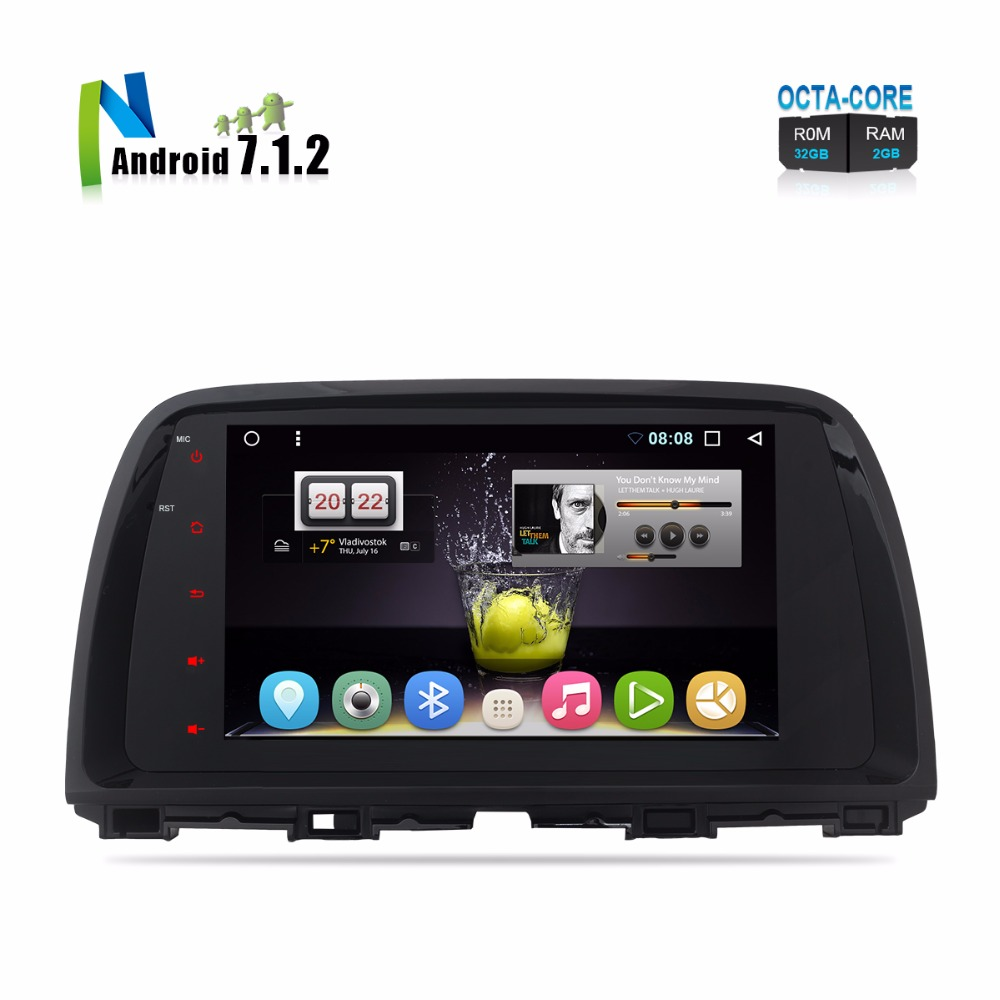 DE In Stock Android 7.1 Auto Radio GPS For Mazda CX-5 CX5 2012 2013 2014 2015 FM RDS GPS Navigation 9