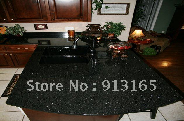 black galaxy granite countertop half bullnose fine shipping cost on